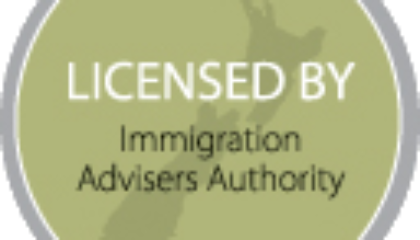 Licensed immigration advisor for New Zealand