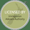Licensed immigration advisor for New Zealand